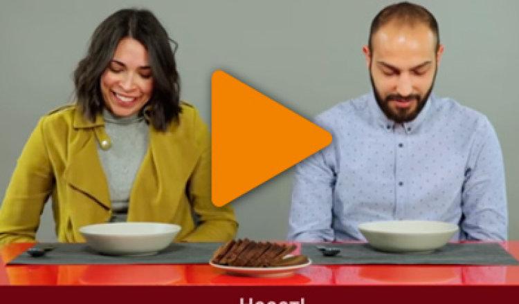 Видео «Неожиданная реакция итальянцев на русские супы»