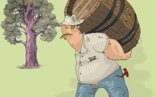 Притча о мудром отце и о крепком дереве