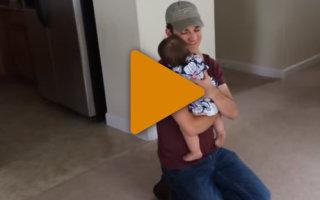 Видео «Изумительные отцы». Они знают, как доставить ребенку радость