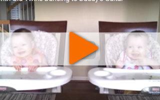 Видео «Подтанцуем в такт с малышками?!»