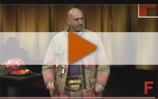 Видео «Урок жизни от пожарного-добровольца»