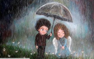 Иногда ливень дарит не только грусть и неприятности