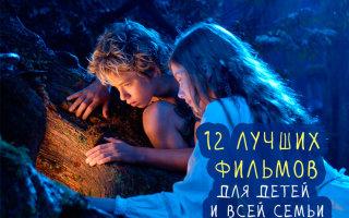 Великолепная подборка фильмов для детей