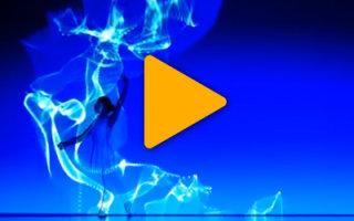Видео «Космический танец от Dance Enra»
