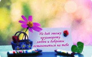 Притча «Бумеранг доброты»