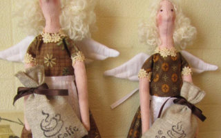 Куколки «Кофейные ангелочки»