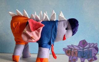 Мягкие игрушки, созданные по детским рисункам! (20 фото)