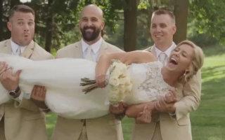 Свадебный переполох. Смешные Гифки с женихами и невестами