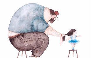 Сможете ли вы после просмотра этих рисунков удержаться от звонка папе?! 19 великолепных иллюстраций