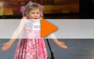 Видео о талантливой девочке «Стих Про Бабушку»