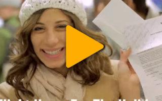 Видео «Подарки к Рождеству — Мечты сбываются»