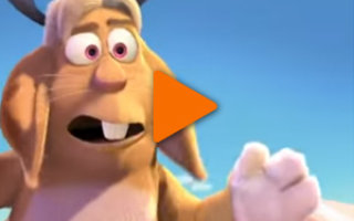 Видео «Барашек и Кролень!»