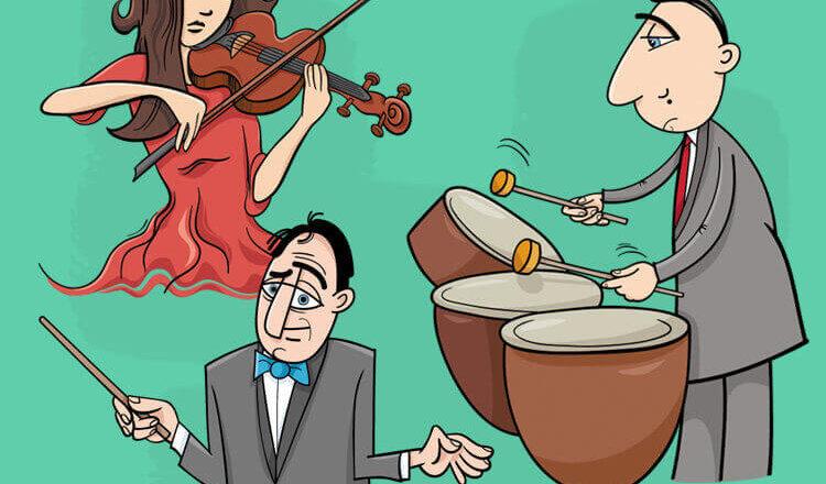 Анекдот «Необычный оркестр в ресторане»