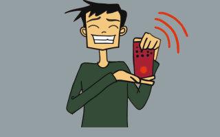 Анекдот-комикс «Детектор лжи»
