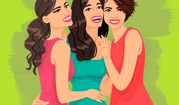 Анекдот дня «Три подруги на девичнике»
