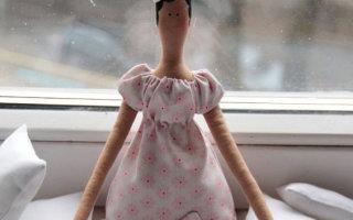 Мастер-класс по созданию тильдовской куколки балерины
