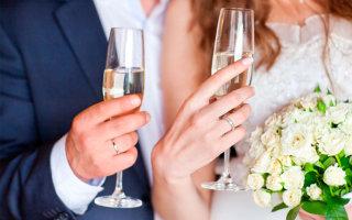 Красивые тосты для оригинального поздравления молодоженов на свадьбе