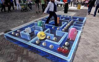 Фото «Уличные 3D-рисунки на асфальте»