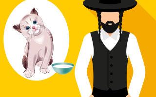 Анекдот «Предприимчивый еврей и кошечка»