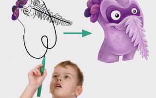 Художник изображает монстров по рисункам детей (30+ фото)