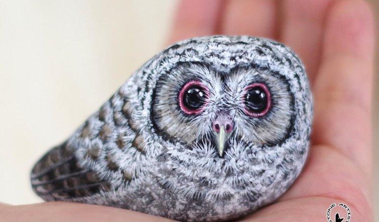 Очаровательные рисунки животных на камне (31 фото)