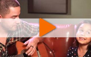 Видео «Алекса Нарваез и её чудный папа Хорхе!»
