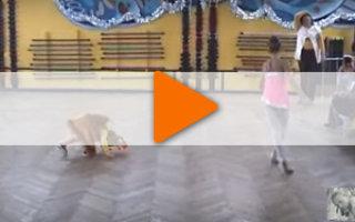 Видео «Лисичка на детском утреннике»