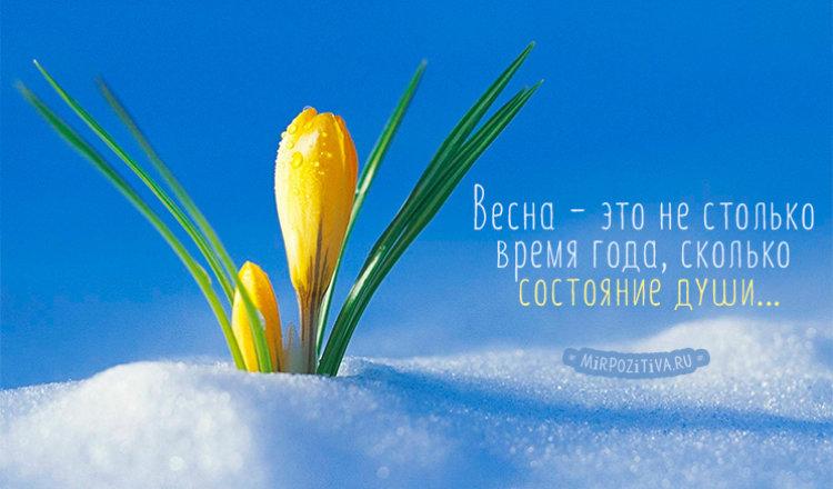 Подборка самых красивых цитат о весне