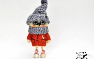 «Валяшки» от Любови Гусевой (30 фото игрушек)