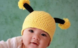 А вы бы надели своему ребенку такую забавную шапочку?