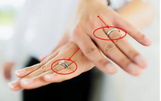 Для обручального кольца — только безымянный палец. Почему?