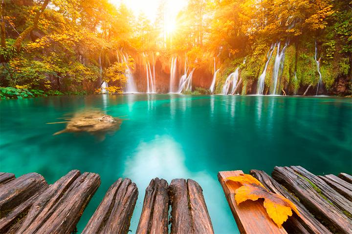 солнце в Хорватии