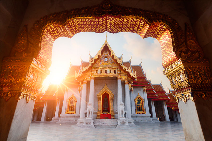 солнце в Бангкоке, Таиланд