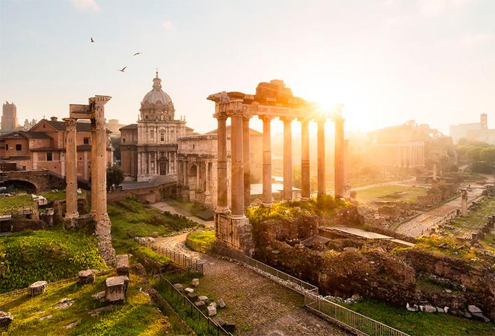 солнце в Италии