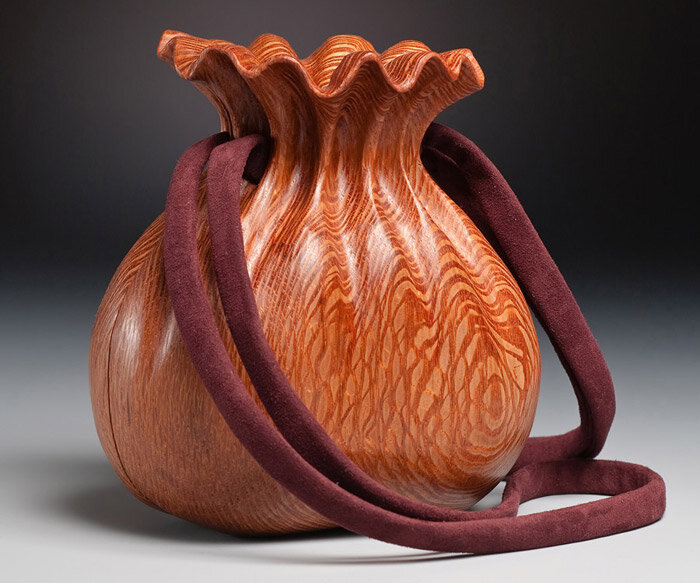 гаманок из дерева