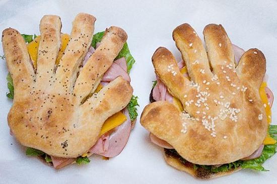 Самые необычные бутерброды (16 фото)