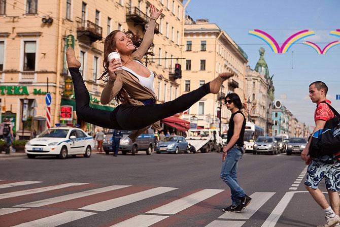 Фото «Танцующий Петербург»
