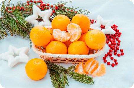 мандарины на новый год
