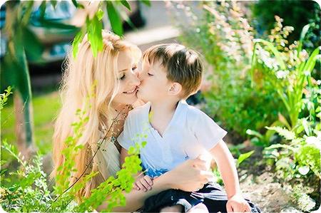 мама и сын