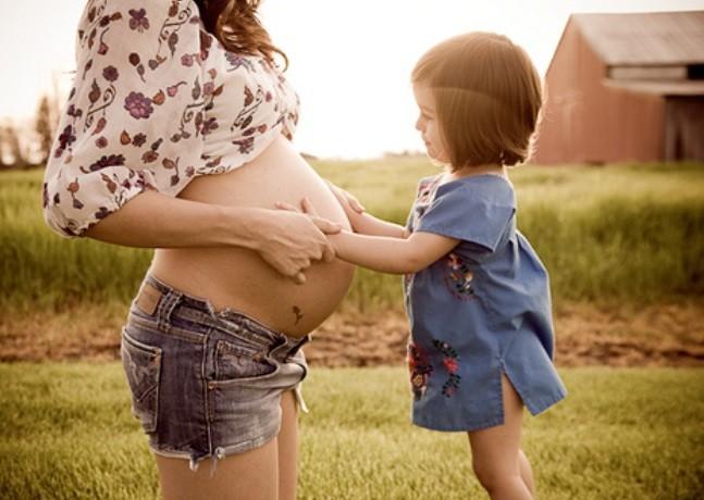 мама беременная