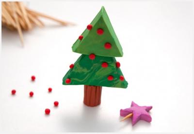 новогодняя елка из бумаги своим руками
