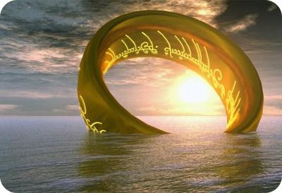 кольцо, море