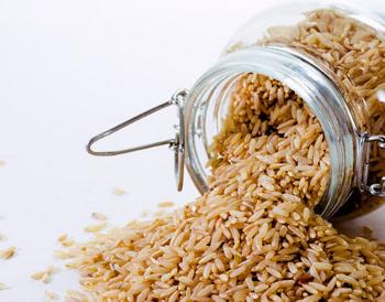 банка с рисом