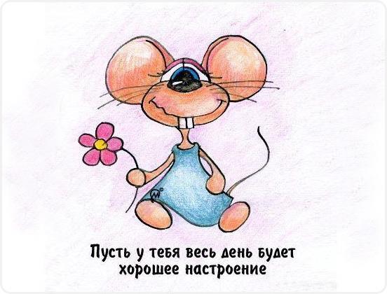 мышка настроение