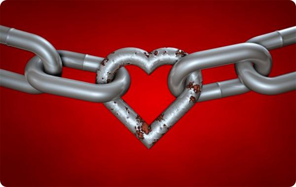 цепь сердце