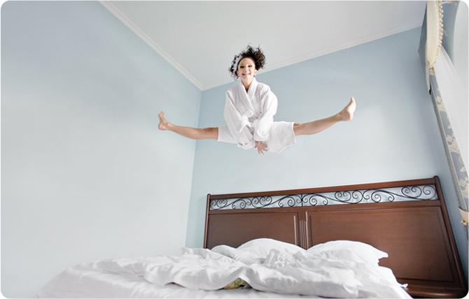 утром бодро встать
