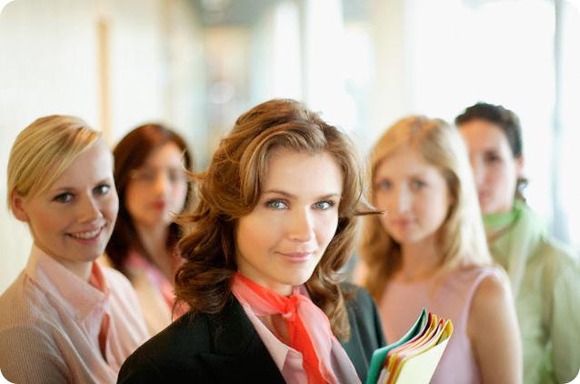 женщины на работе