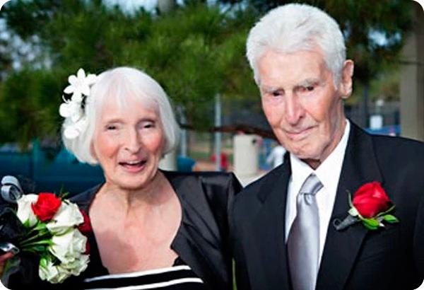 свадьба в 100 лет