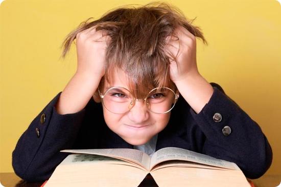 мальчик не хочет читать