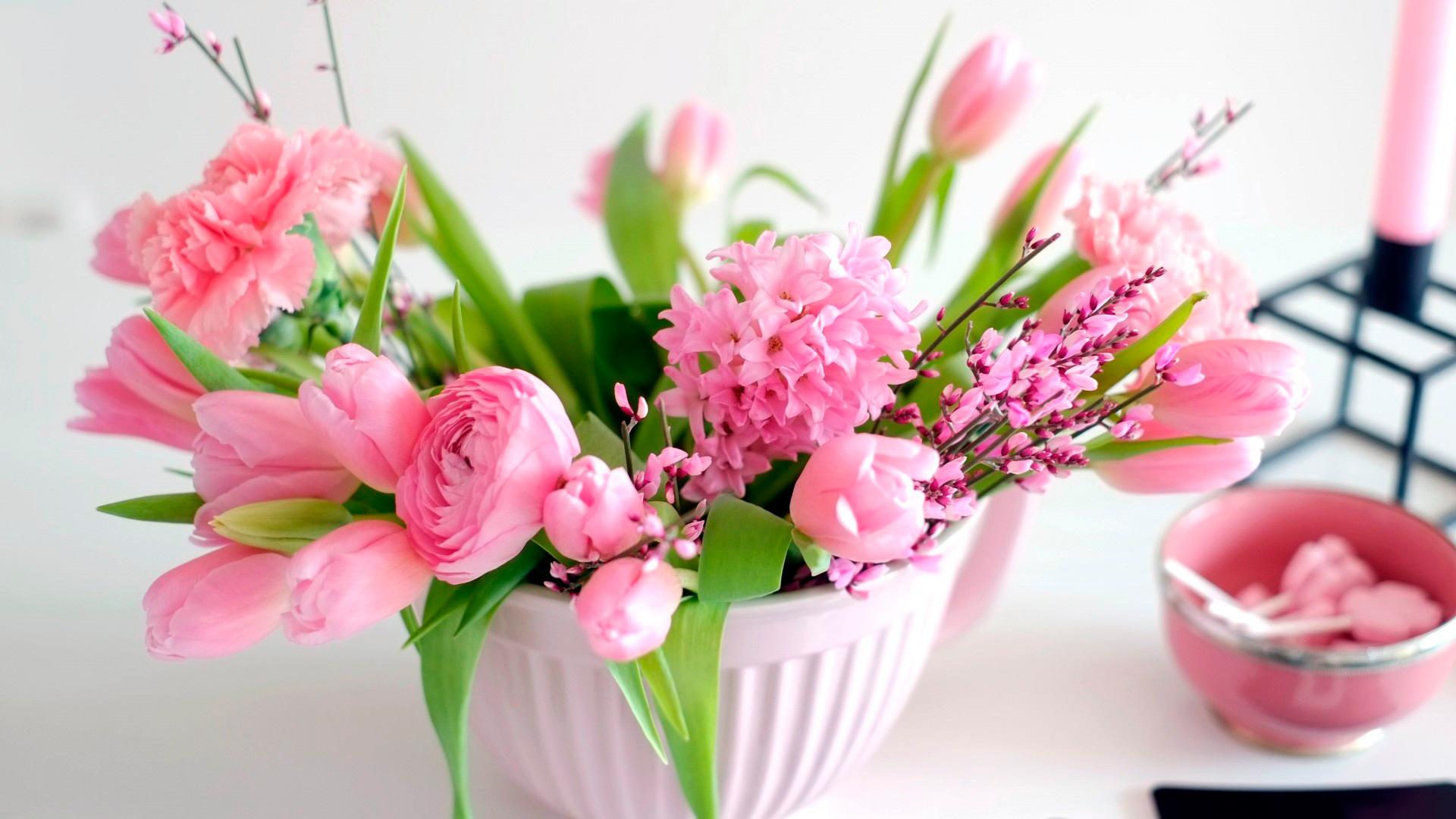 Букеты цветов: фото